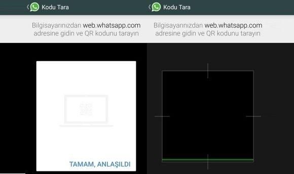 WhatsApp computer with Web Usage