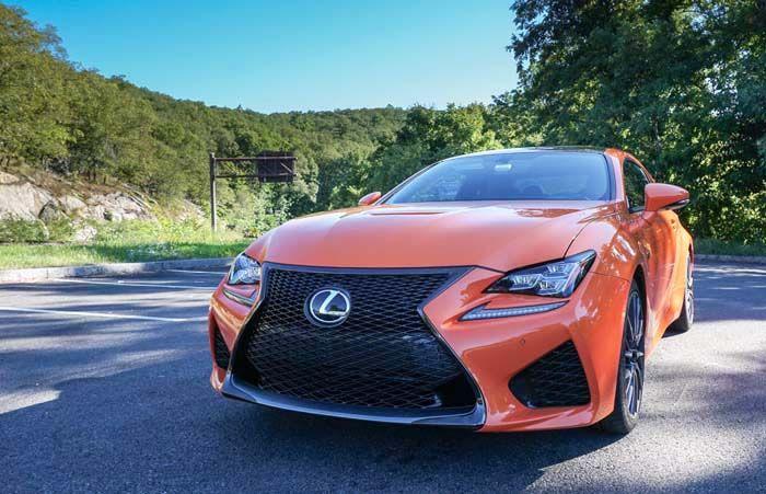 2018 Lexus RC F overview