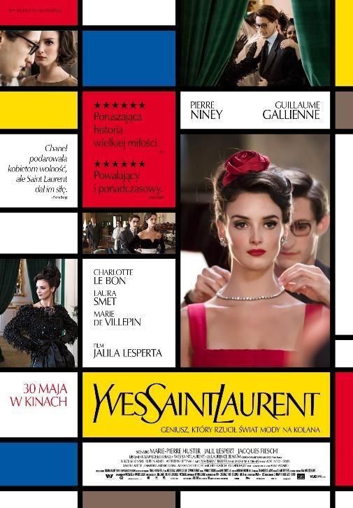 """""""Yves Saint Laurent"""" - 28 maja 2014, godz. 21:00, Kino ARS Kraków; 30 maja 2014, godz. 20:30, Kino Iluzja Częstochowa"""