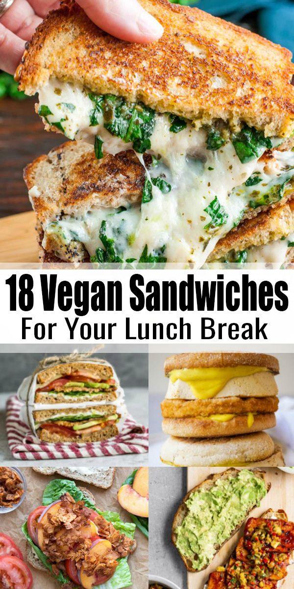 18 Vegan Sandwich Recipes