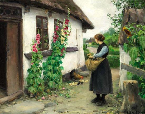 Hans Anderson Brendekilde (1857  -1942 ), pintor danés.