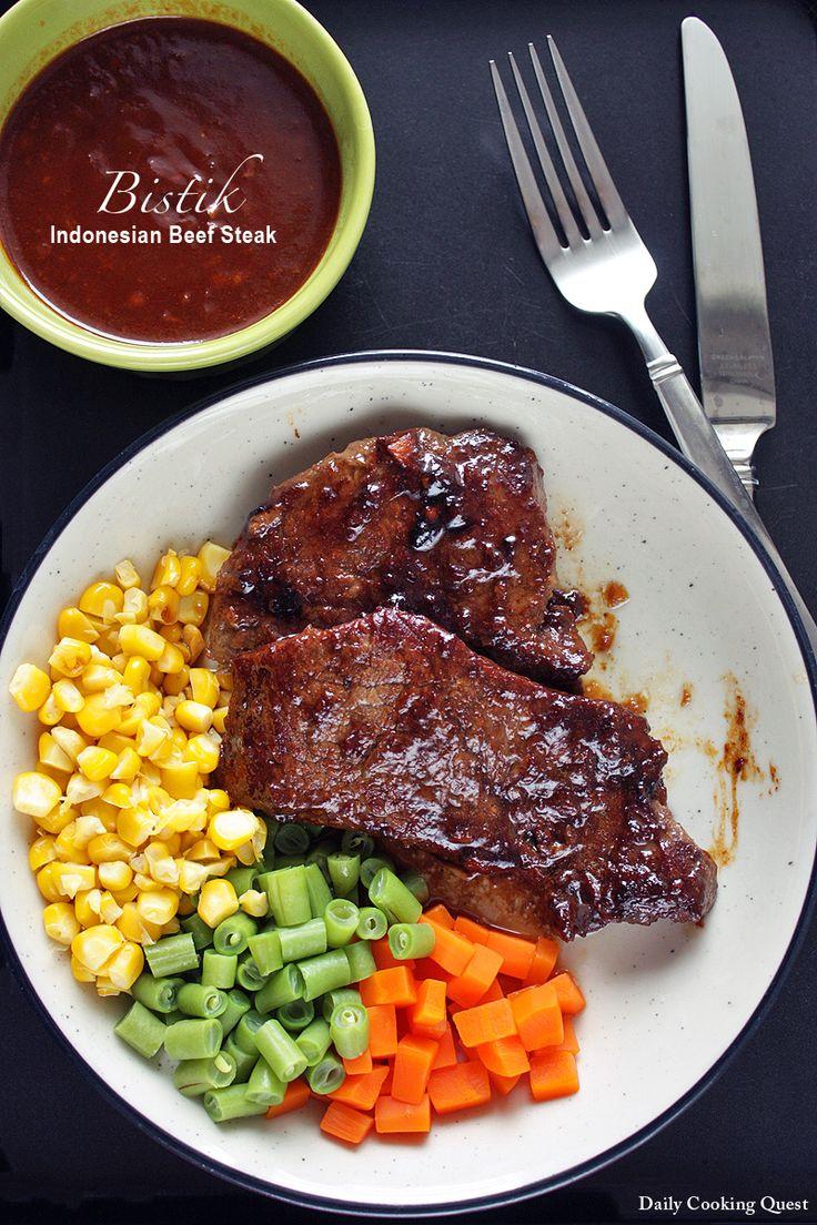 Resep Bistik - Indonesian Beef Steak Recipe