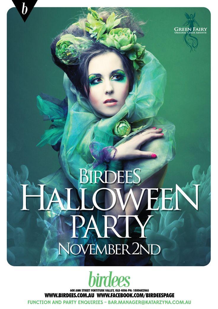 BIRDEES HALLOWEEN PARTY | NOV 2 #party #halloween #greenfairy #dressup #birdees #valley #brisbane