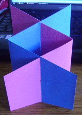 Great instructions for making a cascade card!  I want to try this... NF