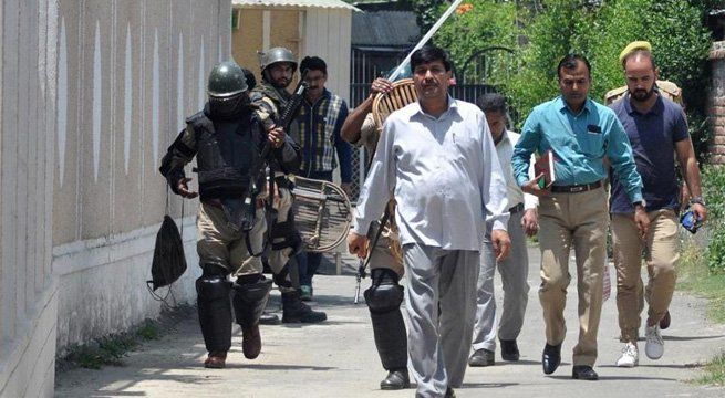 Srinagar: National Investigation Agency (NIA) Saturday raided 14 locations in Srinagar, eight in Delhi and Haryana in connection with alleged terror funding in Jammu and Kashmir, and recovered documents and pendrives related to militant organizations. The raids were in connection with alleged...