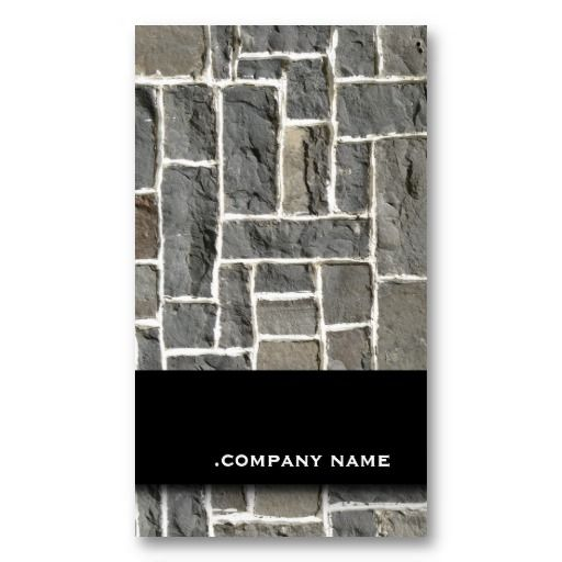 Perfect business card for hotels / pools / spa / interior designers/ renovation / stoneworker/ any stone related or construction business or any other if you like.
