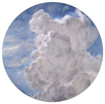 Janet Dawson - 'Cloud over Barry's Hill' 2000, oil on canvas. From the collection of the National Gallery of Australia.