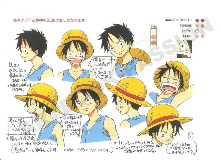 Monkey D. Rufy (モンキー・D・ ルフィ Monkī D. Rufi)  Impel Down (インペルダウン Inperu Daun)  manga