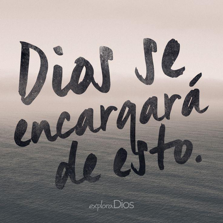 #Dios se encargará de esto. #ExploraDios #Opciones