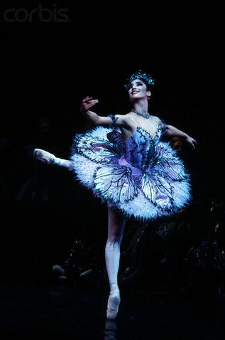 Benazir Hussain in The Sleeping Beauty - The Royal Ballet; stunning...