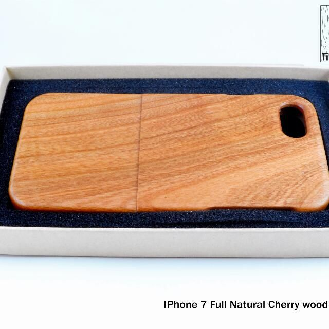 Buy Premium Natural wood Iphone 7 and 7 Plus in Subang Jaya,Malaysia. * Two types of Wood : Walnut/Cherry Wood * 100% guaranteed original wood not imitate not plastic or sticker * Limited unit, first come first serve. Chat to Buy