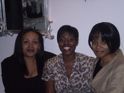 Sonia Poleon - The Serial Entrepreneur Tracy Reid (middle)  Claudine Reid MBE