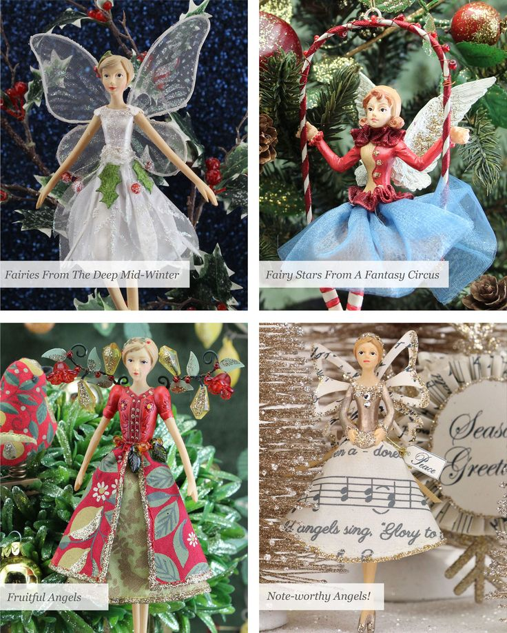 Gisela Graham Christmas Fairies