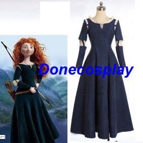 Princess Brave Merida Cosplay Halloween Costume princess dress by Donecosplay on Etsy https://www.etsy.com/listing/188913283/princess-brave-merida-cosplay-halloween