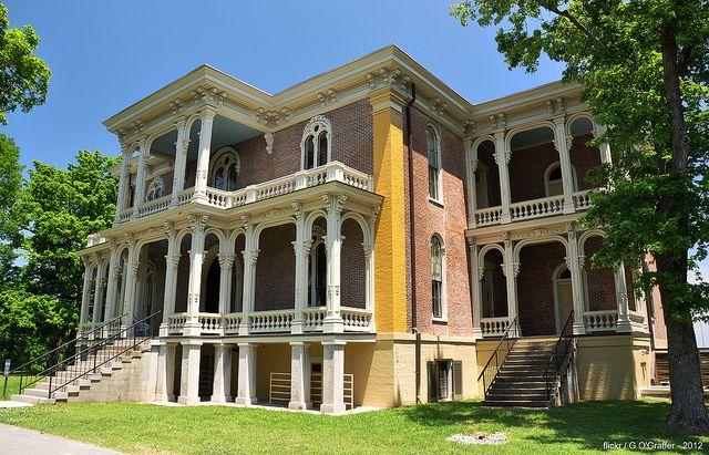 Clover Bottom Mansion - Nashville, Tennessee by G. O'Graffer, via Flickr