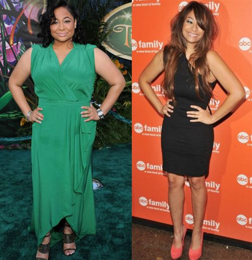 Raven Symone - Before & After (although, I think she may have lost too