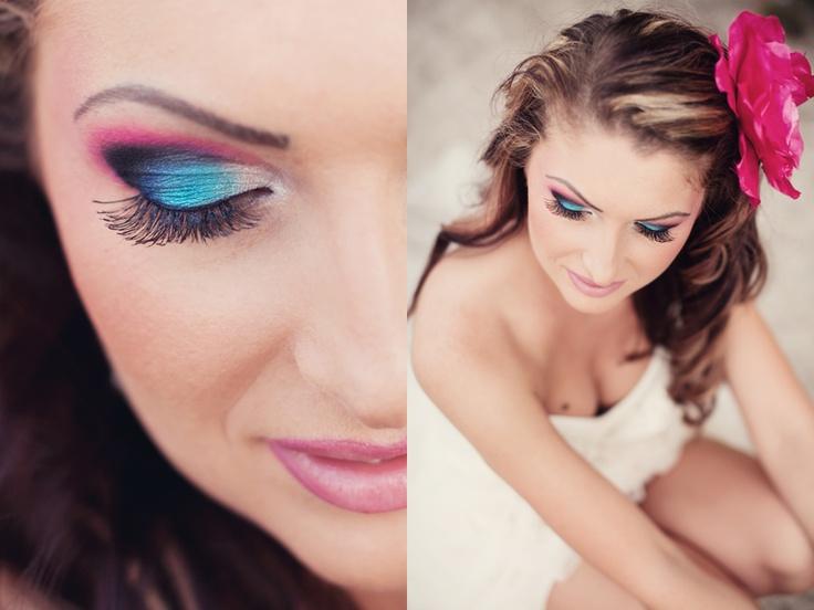 beautiful bride makeup #wedding #make-up #bride