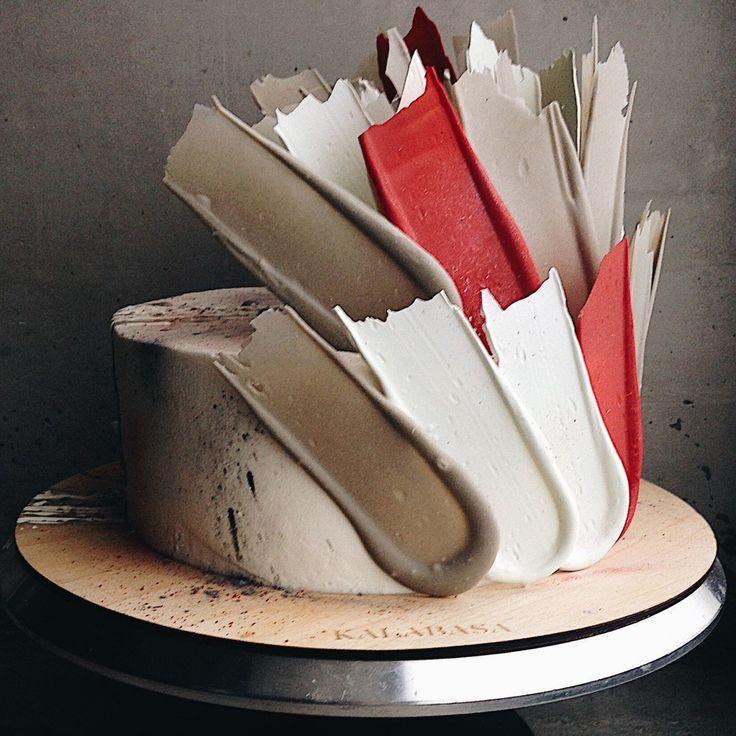 究極の食べるアート!モスクワ発「ブラシストロークケーキ」に世界がうっとり♩ - macaroni