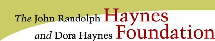 The John Randolph Haynes Foundation announces the 2014 Haynes Lindley Doctoral Dissertation Fellowships, designed to encourage research into the economic, social, policy or political issues that impact Los Angeles.