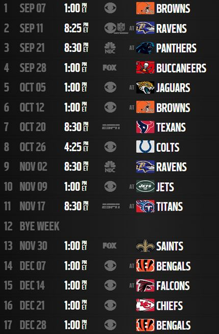 pittsburgh steelers schedule 2014 printable | Analysis: Pittsburgh Steelers' 2014 schedule