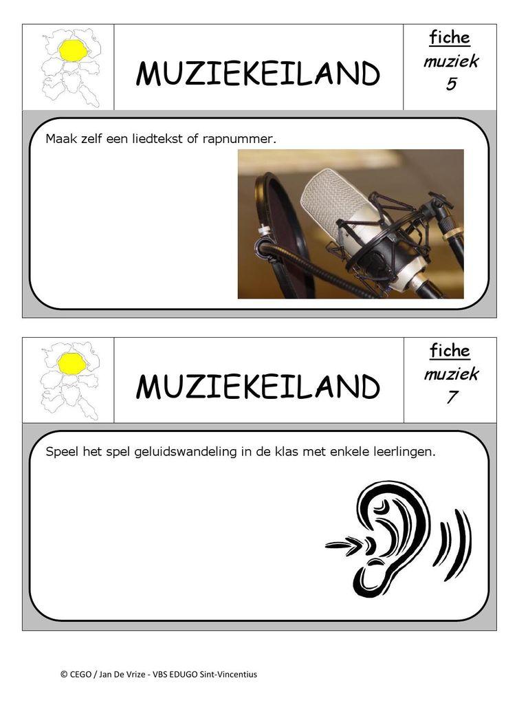Muziekeiland opdrachten 3