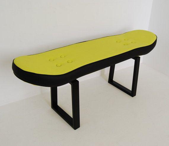 Skateboard furniture room  Fackie pressure green por skatehome