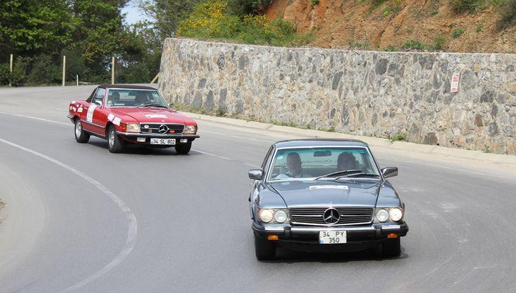 """Mercedes-Benz Türk, bu yıl 25. yılını kutlayan Klasik Otomobil Kulübü'nü destekleyerek, 18 – 19 Nisan tarihlerinde """"Mercedes-Benz Bahar Rallisi""""ni gerçekleştiriyor."""