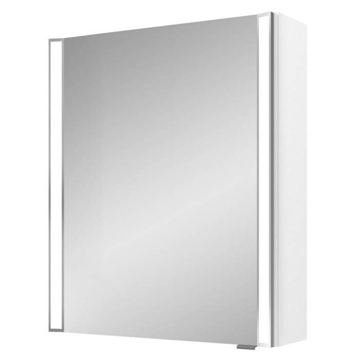 Pelipal S25 Spiegelschrank Mit Seitlichem Led Lichtprofil 60 X 17