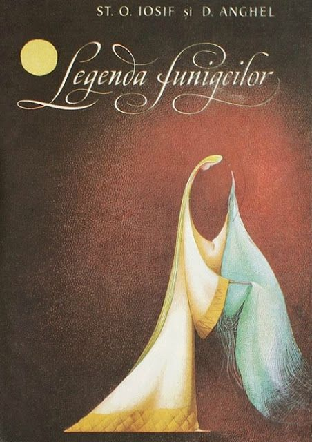 "Adriana Mihailescu cover illustration for ""Legenda Funigeilor""."