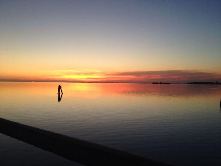 #veniceseashore  #lidoview WINTER SUNSET IN LIDO DI VENEZIA #storytelling @veneziaunica
