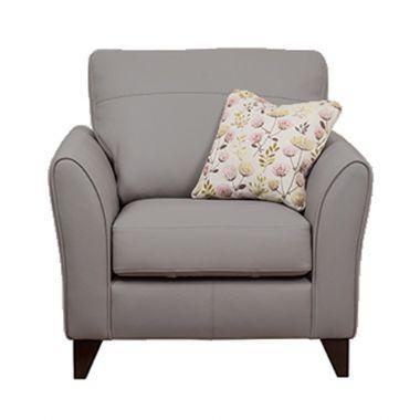 fairfield steel grey armchair 499