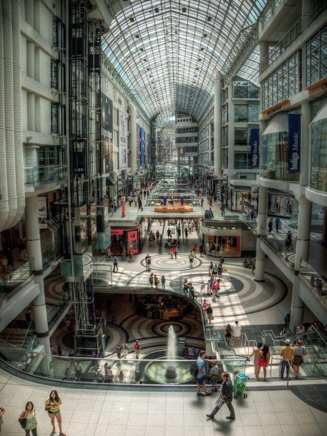 Toronto's Eaton Centre (HDR)