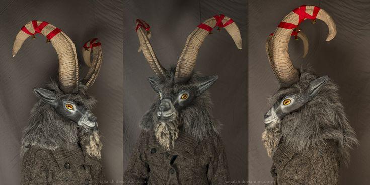 The Yule Goat by Sakalah on DeviantArt