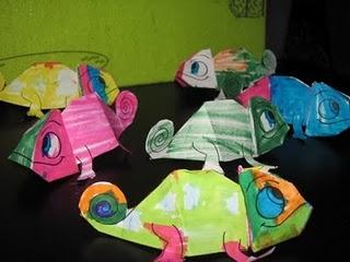 3D Chameleons....Fabulous!