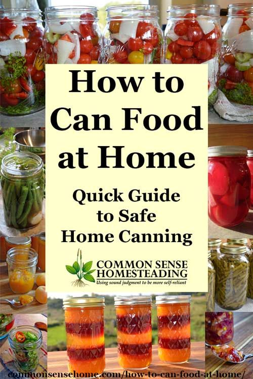 739 best canning images on pinterest canning recipes kitchens and how to can food at home quick guide to safe home canning forumfinder Image collections