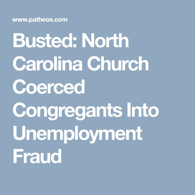 Unemployment Tax Form Busted North Carolina Church Coerced