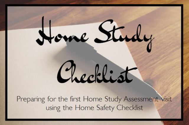 Home Study Preparation - Home Safety Checklist - becoming a foster / adoptive parent (mommameesh.wordpress.com)