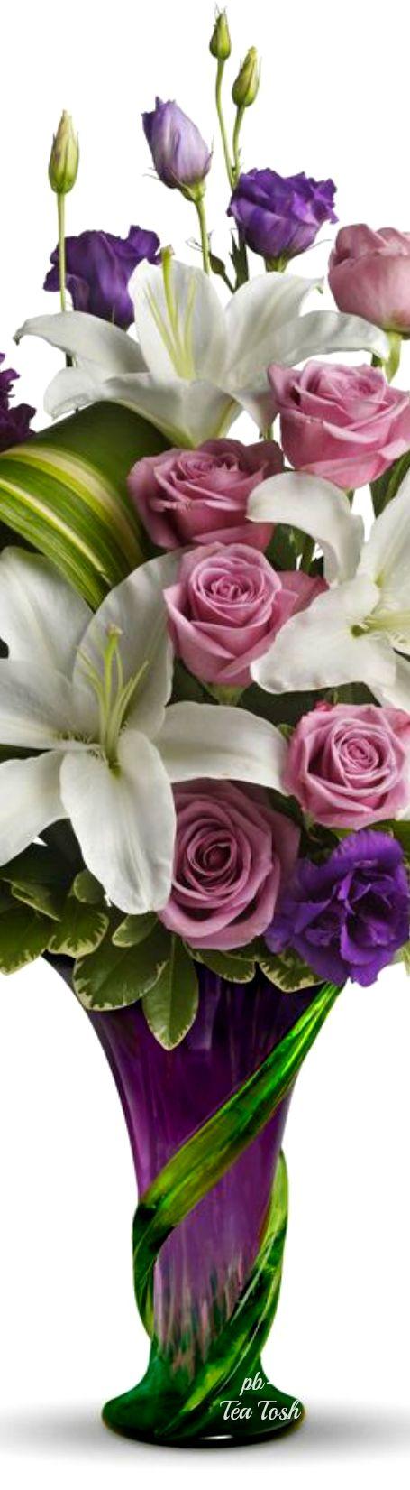 Lavender Rose Bouquet ❇ Téa Tosh