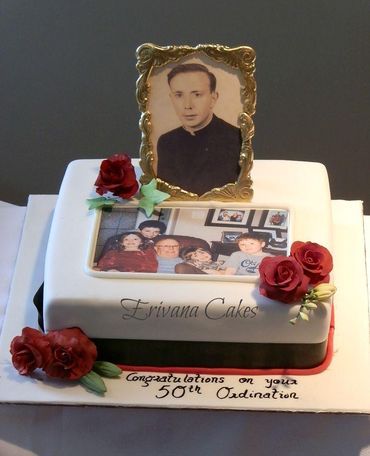Priest Ordination Cake Cake Decorating Ideas Pinterest