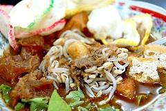 Tahu Campur (Mix Tofu) from East Java, Indonesia