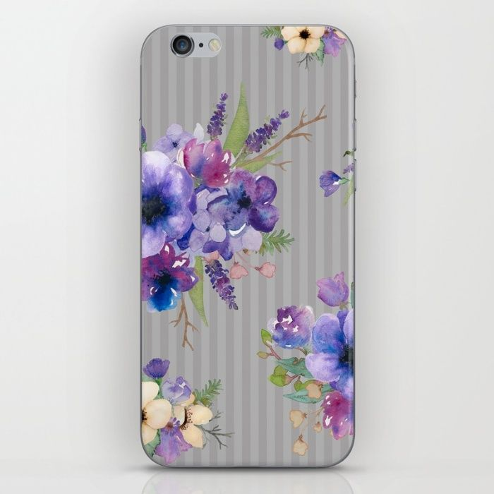 Such pretty petals! Created from my original watercolor illustrations.  Available now... https://society6.com/allisonrattray/cases