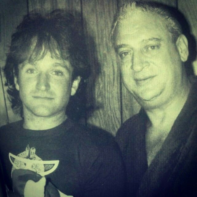 Robin and Rodney Dangerfield
