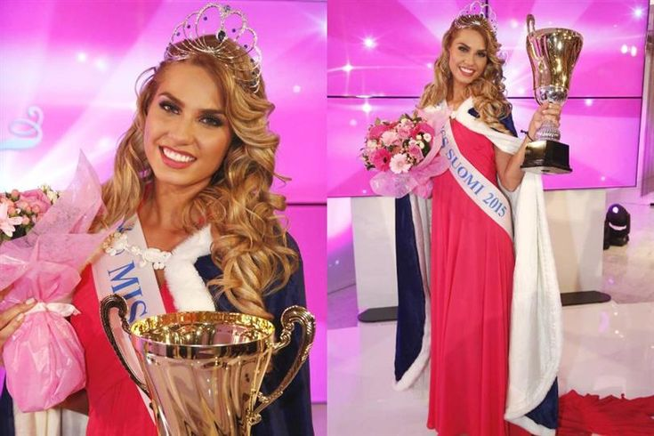 Rosa-Maria Ryyti crowned Miss Suomi 2015