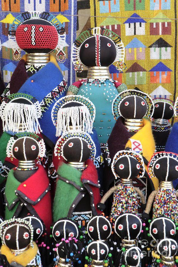 African Dolls Photograph  - African Dolls Fine Art Print