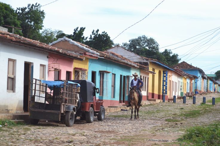 Horse Riding in the Hills of Trinidad, Cuba