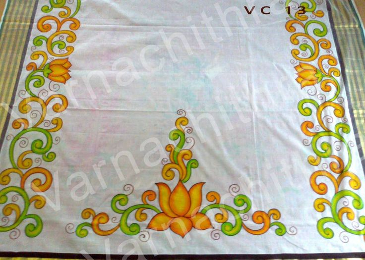 118 best kerala mural painting images on pinterest for Aithihya mural painting fabrics