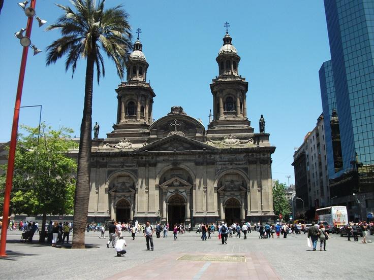Catedral Metropolitana - Santiago Chile, Plaza de Armas