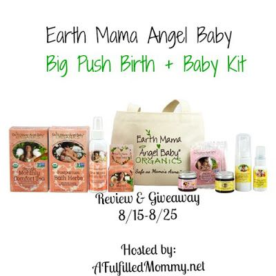 4ea7894413 Fulfilled Mommy  Earth Mama Angel Baby Big Push Birth   Baby Kit Re.
