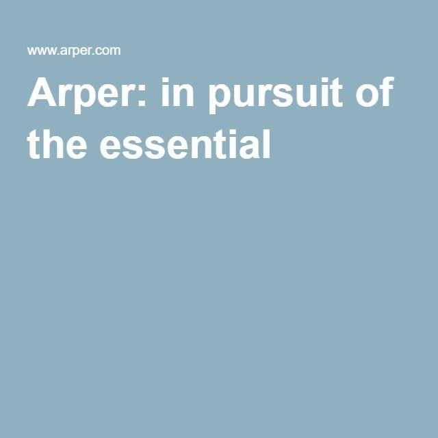 Arper: in pursuit of the essential