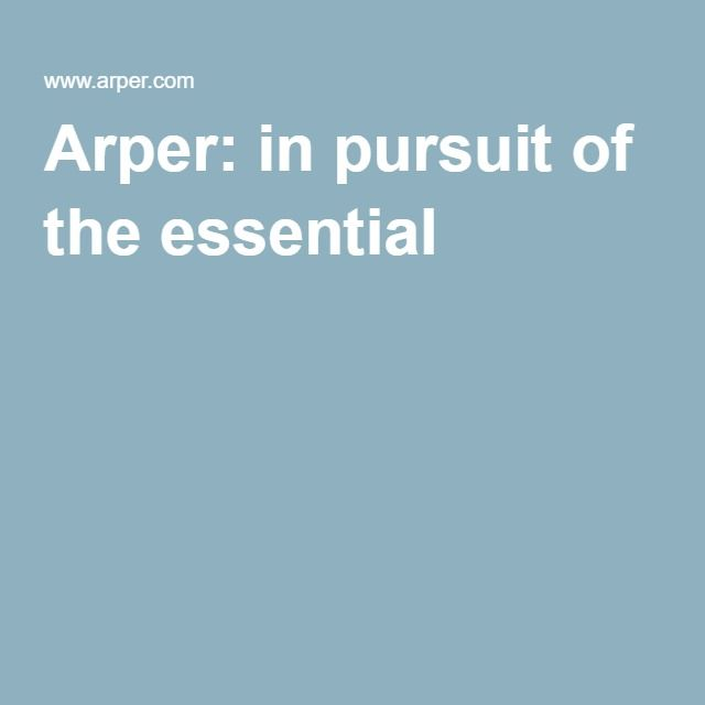 Arper: in pursuit of the essential